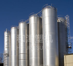 Large Outdoor Storage Silos