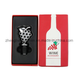 Grape Shaped Wine Stopper in Gift Box (608142) pictures & photos