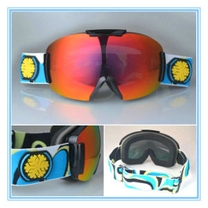 Interchangeable Lens PC Polarized Skiing Goggles with Wide Band pictures & photos