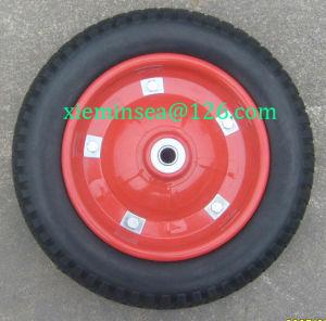 13*3 Rubber Foam Wheel pictures & photos
