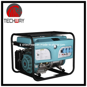 High Quality 5000W Aluminium/Copper Wire Gasoline Generator pictures & photos