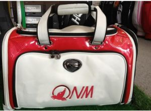 Boston Golf Clothing Bag for Men White/ Red with Shoulder Strap pictures & photos