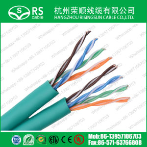 Cat5e U/UTP Twin Cable 24 AWG LAN Cable