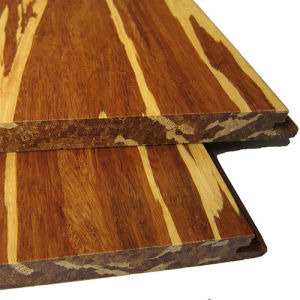 Uniclic Tiger Strand Woven Solid Bamboo Flooring pictures & photos