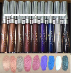 Colourpop Matte Velvety Liquid Lipstick Waterproof Long Lasting Lip Gloss 9 Colors pictures & photos