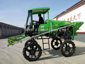 Aidi Brand 4WD Hst Diesel Engine Machine Spraying for Paddy Field pictures & photos