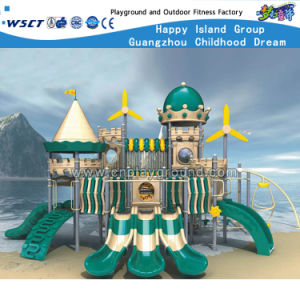 Children Castle Outdoor Playground Slide Play Equipment HD-Zbb901 pictures & photos