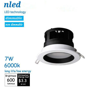 Long Life & Low Energy 7W LED Ceiling Light