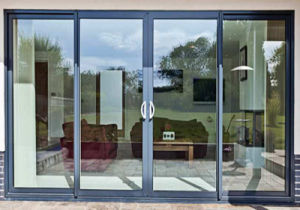 Heat Insulation Soundproof Tempered Insulated Glass Doors pictures & photos