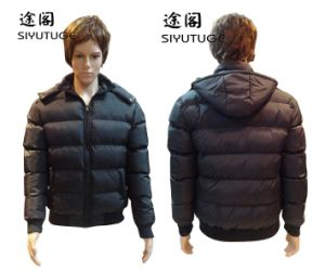 Men Padding Fashion Hoody Winter Coating Jacket (SY-810) pictures & photos