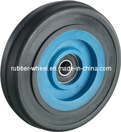 4 Inch Small Rubber Wheels with Roller for Air Compressor