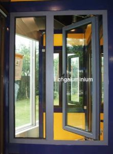 Aluminium Casement Window with One Fixed pictures & photos