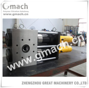 Plastic Extrusion Machine Used Double Piston Continuous Melt Screen Changer pictures & photos