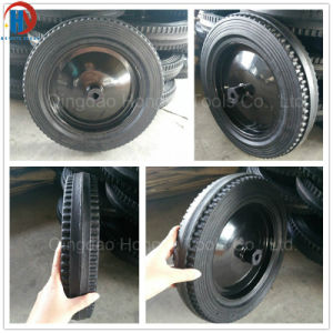 Crumb Solid Rubber Wheel Tyre pictures & photos