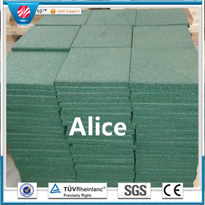 Interlocking Rubber Tiles/Colorful Rubber Paver/Gym Rubber Tile pictures & photos