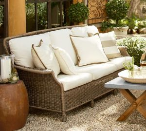 Well Furnir Wicker Garden Furniture 4 Piece Deep Seating Group with Cushions J005 pictures & photos