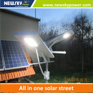 Newsky Power 40W Integrated Solar LED Street Light pictures & photos
