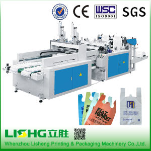 Vestbag Flat Bag Plastic Bag Making Machine Automatic pictures & photos