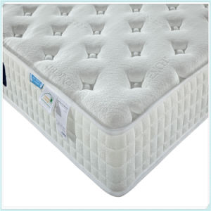 Pillow Top Single Spring Mattress, Cheap Price pictures & photos