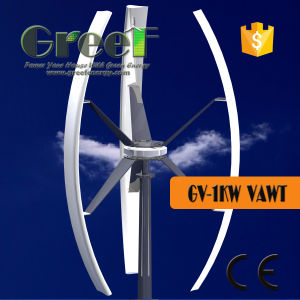 1kw Vertical Wind Turbine Electric Generating Windmills for Sales pictures & photos