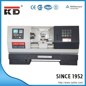 Economic and High Precision Flat Bed CNC Lathe Ck-6150b pictures & photos