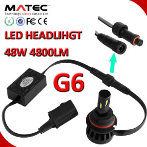 LED Car Headlight H1 H3 H7 H11 H4 880 881 9006 9005 LED Headlight pictures & photos