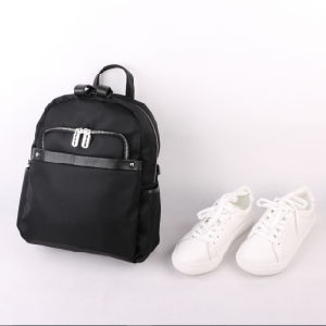 Mini Fashion Backpack, Black Color Bags, School Bags, Oxfor Cloth Day Bag, Outdoor Bags pictures & photos