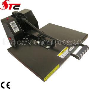CE Flat Simple Heat Transfer Machine Manual T Shirt Heat Press pictures & photos