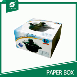 Corrugated Color Paper Packaging Box for Pots pictures & photos