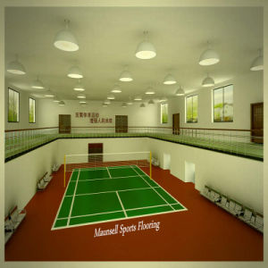 Badminton PVC Sport Flooring with Bwf Standard pictures & photos