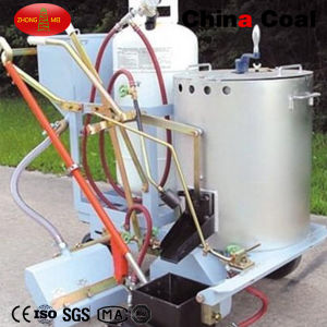 Hand-Push Hot Paint Line Machine / Thermoplastic Road Marking Machine pictures & photos