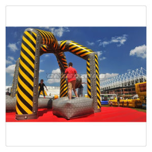 Amazing Wrecking Ball Sports Game Inflatable Demolition Zone Factory Direct pictures & photos