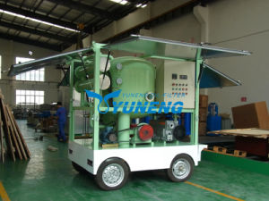 Double Axle Trailer High Vacuum Transformer Oil Degasification Equipment with Flow Rate 9000 Lph pictures & photos