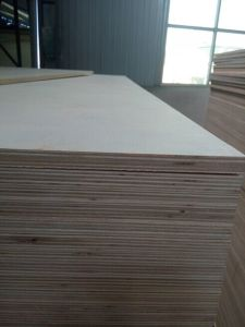 Veneer Face Commercial Plywood for Construction/Decoration and Furniture pictures & photos