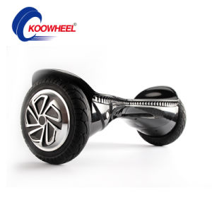 4400mAh Samsung Battery 8 Inch Tire Smart 2 Wheel Electric Standing Scooter Hoverboard Electric Skateboard with Bluetooth Music LED pictures & photos