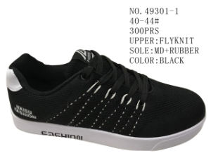 No. 49301 Three Color Men Skate Stock Shoes pictures & photos