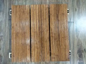 Solid Strand Woven Heavy Bamboo Flooring for Park pictures & photos