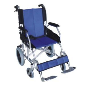 Aluminum Portable Traveling Wheelchair (SK-AW217) pictures & photos