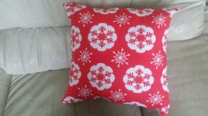 100% Cotton Printed Christmas Cushion Pillow