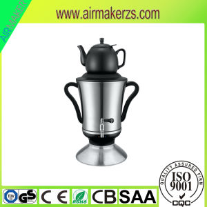 220V Large Russian Samovar with Glass Teapot Ce/GS/RoHS/LFGB pictures & photos