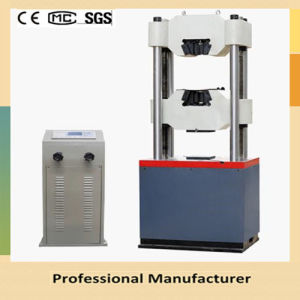 We-1000d Digital Display Four Columns Hydraulic Universal Testing Machine pictures & photos