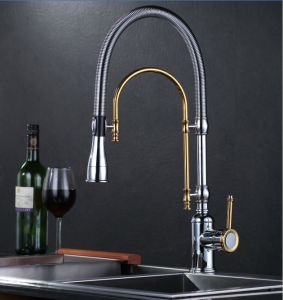 Single-Lever Pull out Kitchen Faucet, Pull out Kitchen Tap pictures & photos