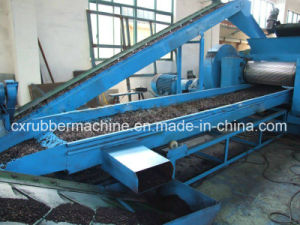 Rubber Powder Processing Machine in Brazil/Tyre Recycling Plant Price pictures & photos