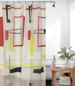 PEVA Shower Curtain - 1