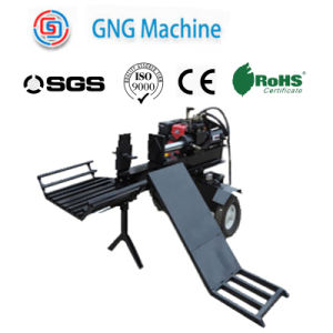 High Precision Automatic Feeding Wood Log Splitter pictures & photos