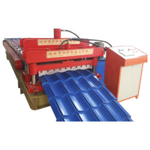 Widen 828 Type Roofing Plate Forming Machine for Glazed Tile pictures & photos