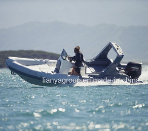 Liya 6.6m 12 Passengers Inflatable Boats China Tourist Rib Boats pictures & photos