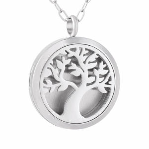 Aromatherapy Jewelry Tree Perfume Locket Essential Oli Diffuser Necklace pictures & photos