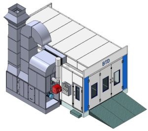 European Design Auto Spray Paint Booth with Ce pictures & photos