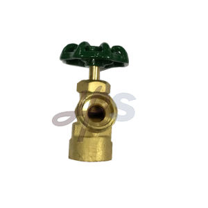 NSF Material Brass Boiler Valves with Two Outlet pictures & photos